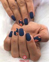 KrisztiNails auf Instagram: #krisztinailslove #autumnnails #crystalnails #matt K …   – Nails