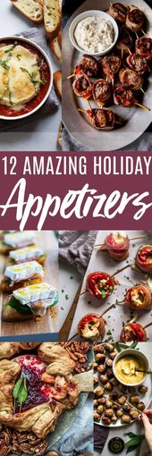 Holiday Appetizers – 12 Delicious Recipes