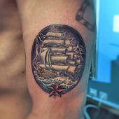 Stürmische Nacht #tattoo #tattoos #tattooartist #tattooed #tattooart