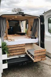 50+ Amazing Camper Van Interior Ideas – #amazing #camper #ideas #interior  Best …