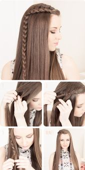 50+ Beautiful and Elegant Braided Hairstyle Tutorials That You Can Make Yourself