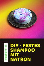 Sie können dieses schöne feste Shampoo leicht selbst machen! – MEINE DIY KOSMETIK