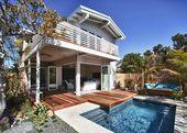 A Modern Beach House in San Diego   – Living