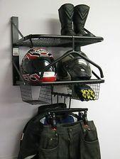 Biker ordentlich Motorrad Motorradbekleidung Jacke Helm Rack Organisation ..   – Garage Storage