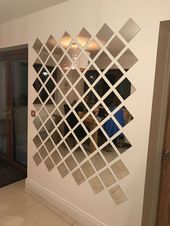 15+ Elegant Wall Mirror Collage Ideas, #collage #Elegant #ideas #Mirror #Wall #wallpaintingt…