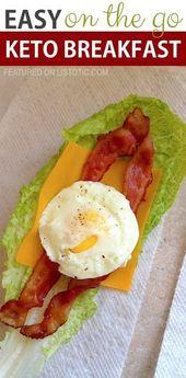 Envoltura para el desayuno Easy On The Go Keto | Estos fáciles desayunos bajos en carbohidratos y ceto …