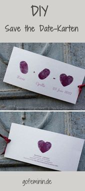 Commitments welcome: 10 creative ideas for great save the date invitations