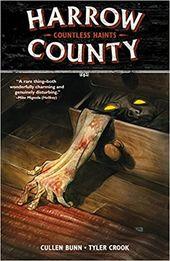 Harrow County Volume 1 Countless Haints Cullen Bunn Tyler Crook 9781616557805 Amazon Com Books Dark Horse Comics Harrow Horror Comics