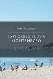 Exploring Budva, Montenegro