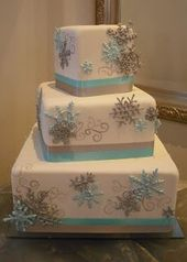 Winter-Wunderland-Kuchen   – Winter Wonderland Cakes