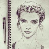 Bei Instagram habe ich kürzlich die tolle Victoria Jones entdeckt. Sie ist eine… – Porträt – #bei #Die #eine #entdeckt #habe