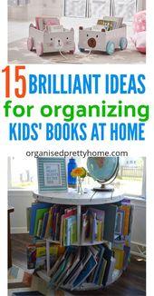 15+ Awesome Kids Book Storage Ideas