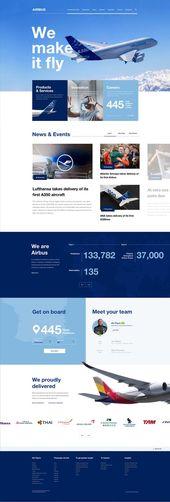 Airbus Corporate Web Estate   – starship-sitio