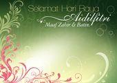 Kad Raya Design Templates Free To Download Eid Card Designs Template Design Recipe Cards Template