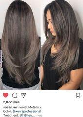 Schichten   Haare und Schönheit im Jahr 2019 Pint…