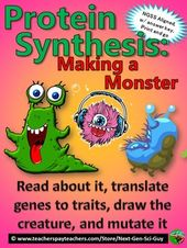 Protein Synthesis: Making a Monster