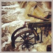 This Is The Old Water Wheel At Masterson Millpond In Lawrence