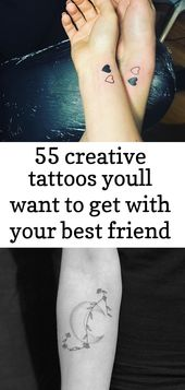 55 creative tattoos youll want to get with your best friend laura #creative #friend #laura #tattoo 1