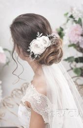 30 Amazing Wedding Hairstyles With Headpiece | Deer Pearl Flowers [tps_header]When we come across amazing wedding hairstyles featuring unique and styl...
