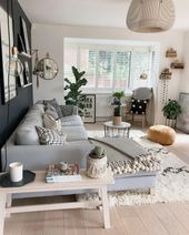 67 inspirational modern living room decor ideas for small apartment you will lik…  – Wohnzimmer