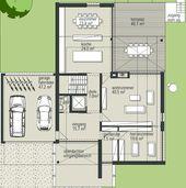 ÖKO-ARCHITEKTENHAUS Villa 12 Roma Grundriss Erdge…