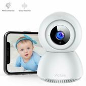 Details zu 1080P Babyphone mit Geräuscherkennung FHD Kameraüberwachung Wi-Fi   – Numerique