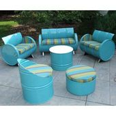 Drum Works Furniture Outer Banks 4-teiliges Sunbrella-Sofagarnitur mit Kissen | Wayf …   – Garten