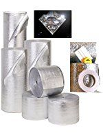 NASATECH Ez-cool Car Insulation Kit includes 100 Sq 25/' Foil and Ft Insulation