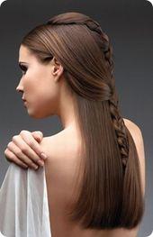 Frisur für mittelglattes Haar - Suche mit Google