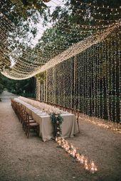 Outdoor Wedding Decoration – Wedding