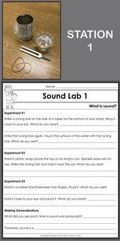 Genießen Sie das Unterrichten von Sound mit Physik-Aktivitäten für Kinder