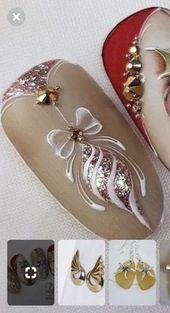 Nails design christmas glitter xmas 54+ ideas