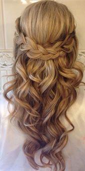 Featured Hairstyle: Heidi Marie (Garrett); hairandmakeupgirl…; Wedding hairsty