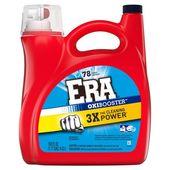 Era Oxibooster Liquid Laundry Detergent 78 Loads 150 Fl Oz
