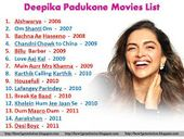 Deepika Padukone Movies List 1 To 15 Deepikapadukone Deepikapadukonemovilist Deepika Padukone Movies Movie List Deepika Padukone