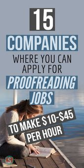 15 Companies Where You Can Apply For Proofreading Jobs