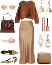Stylisches Outfit mit Sliprock für jeden Tag Look-Ideen für den Frühling …