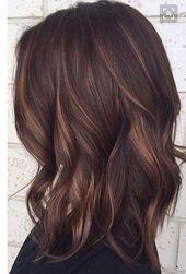 61 schokoladenbraune Haarfarbe Ideen für Brünette 07 ~ Litledress darkhairwithhi …