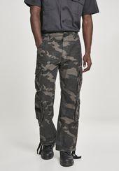 Brandit Cargo Pants 'Pure Vintage Trouser' Men, Khaki / Olive / Fir, Size 54/58