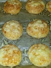 Cheese rolls as from the baker