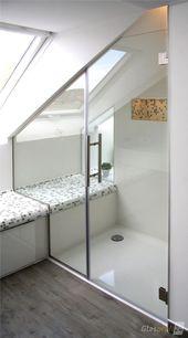 Duschtür aus Glas für die Nische nach Maß für Sie gefertigt. Ihre Duschtür