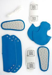 DIY Leather-based craft Equipment – Stitching package – DIY reward – Child Sneakers Leather-based – toddler sneakers – child sneakers blue – Child Memento Reward – Shoe making