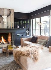 85 Cozy Modern Farmhouse Living Room Decor Ideas
