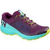 Salomon Women's XA Elevate Shoe – Dark Purple/Blue Curacao/Acid Lime | Bill … – Running