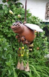 Skulpturen Aus Kupfer Skulpturen Und Gartenkunst Von Stephan Forster E Gartenideenhinterh Ceramic Art Sculpture Pottery Animals Garden Pottery