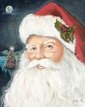 """Photo of Drucke erhältlich! Originelles Keuchen von Krilo Art. """"Heiligabend."""" #christmaspain …"""