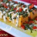 Marinated Cheese {By Amanda Jane Brown