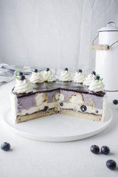Blueberry vanilla cream puff cake   – Torten & Törtchen | Cakes