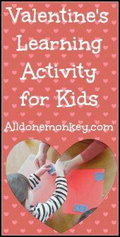 Valentinstag Lernaktivität für Kinder – Fun Activities for Kids