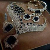 Royal Look American Diamond Necklace Set